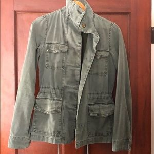 Military style cotton Fatigue jacket UO XS